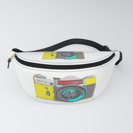 Pop Art Vintage Camera Fanny Pack