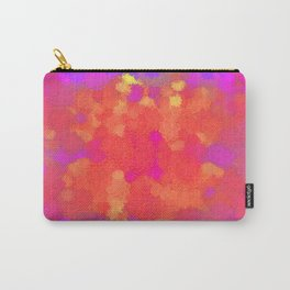 Ornamental-flower-pattern Carry-All Pouch