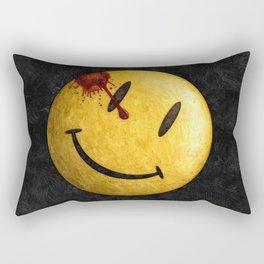 Kill the smile Rectangular Pillow