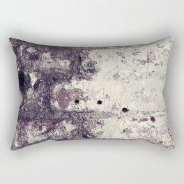 Ultra Violet Brick Wall Rectangular Pillow