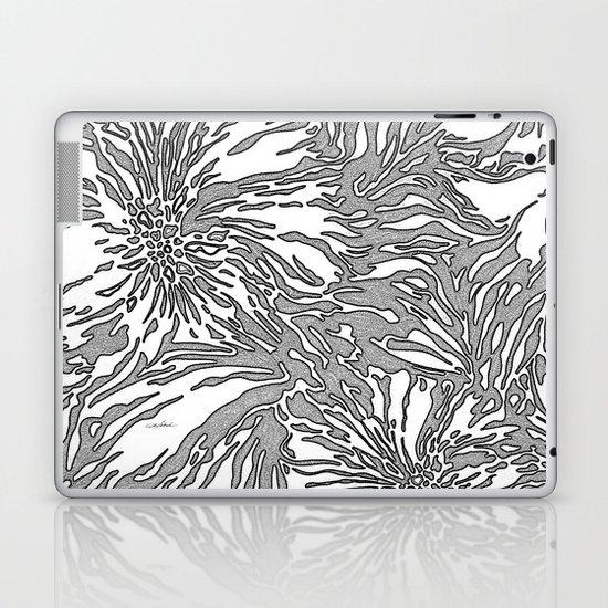 Animal Blossom Laptop & iPad Skin