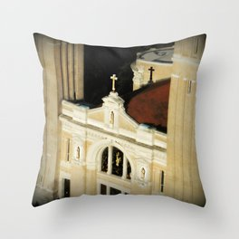 St James Cathedral Seattle WA Throw Pillow