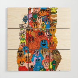 moppets Wood Wall Art