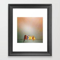 Famile Des O Framed Art Print