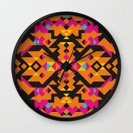 AZTEC ~//~ 4 Wall Clock