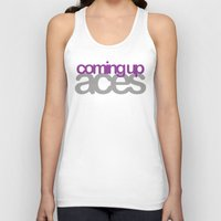 asexual Tank Tops featuring coming up aces by Brizy Eckert
