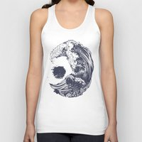 huebucket Tank Tops featuring Swell by Huebucket