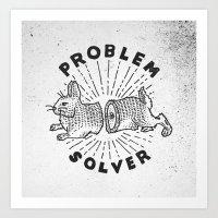 Problem Solver Art Print