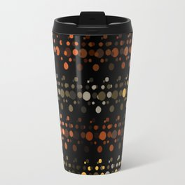 Abstact OrangeYellow Travel Mug