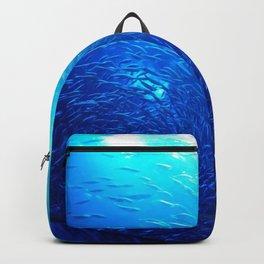 Swirling School Backpack
