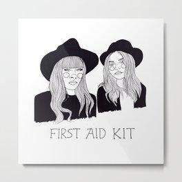 First Aid Kit Metal Print