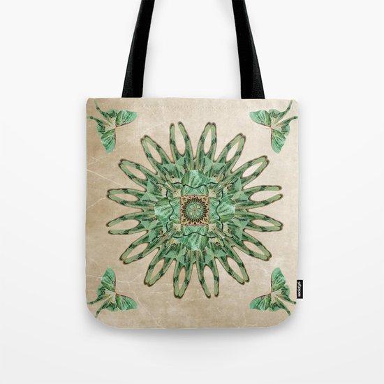Luna Moth Circle  Tote Bag