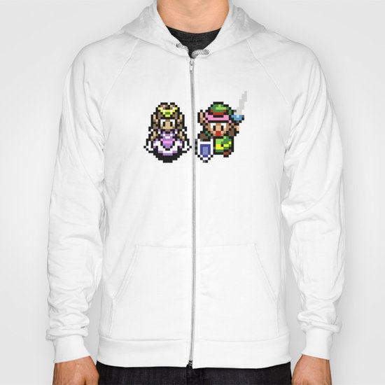 Zelda and Link Hoody