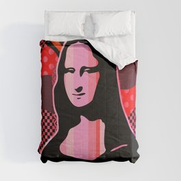 Mona Lisa  | Pop Art Comforters