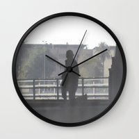 soldier Wall Clocks featuring Soldier by Damien Richard