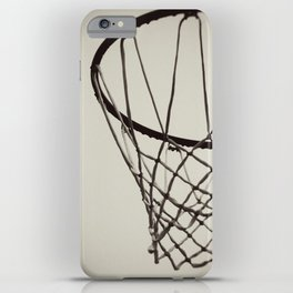 Nothing but Net iPhone Case