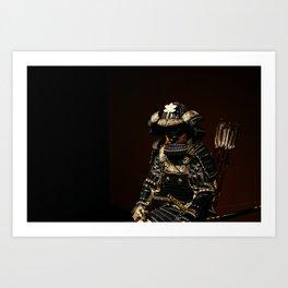 Samurai Armor Art Print