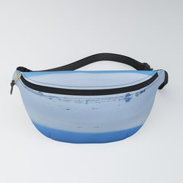 Arctic Blue Reflection Fanny Pack