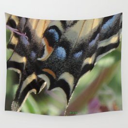 Detail of a Swallowtail Wall Tapestry