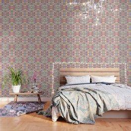 Colorful geometric blocks Wallpaper