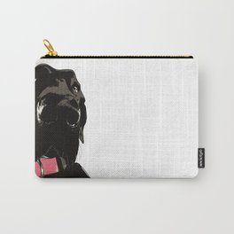 Black Great Dane Dog Carry-All Pouch