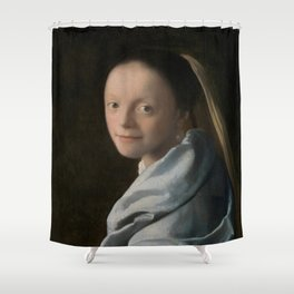 Study of a Young Woman Shower Curtain