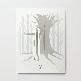 iamamiwhoami; y Metal Print