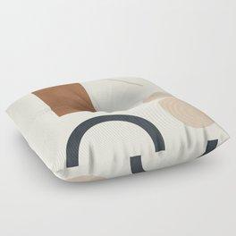 Geometric Modern Art 32 Floor Pillow