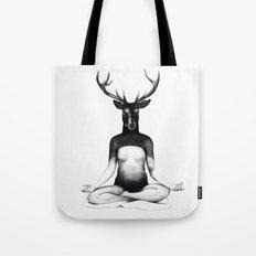 Deer Yoga Tote Bag