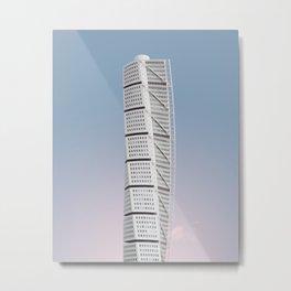 Turning Torso | Santiago Calatrava | #architecture #calatrava Metal Print