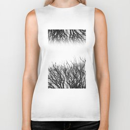 Scorched Branches Biker Tank