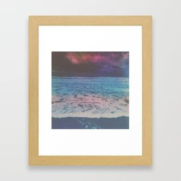 WHALE TO NOTHING Framed Art Print