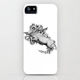 Goat  - Go Vegan iPhone Case