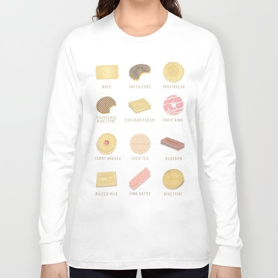 BISCUITS  Long Sleeve T-shirt