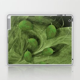 Leaves blowing in the wind Laptop & iPad Skin