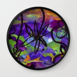 Midnight Garden cycle1 13 Wall Clock