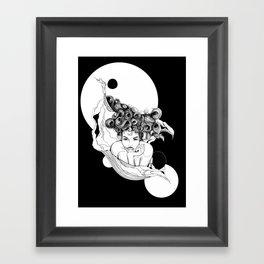 Loreena by carographic, Carolyn Mielke Framed Art Print