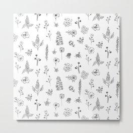 Wildflowers III Metal Print