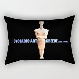 CYCLADIC ART Rectangular Pillow