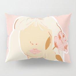 Girl and her Flower Pillow Sham