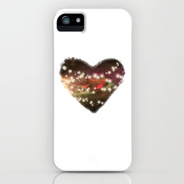 Space Heart iPhone Case