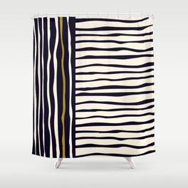 Zebra style animal print pattern Shower Curtain