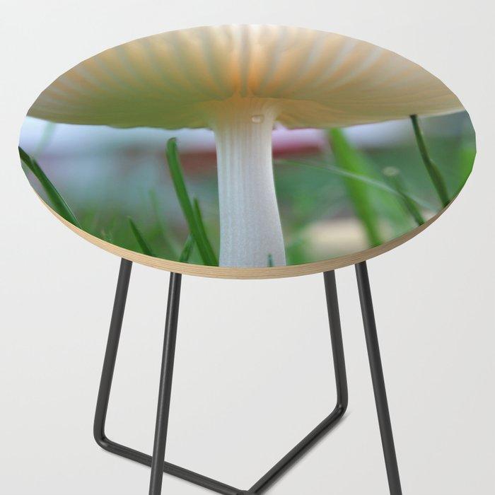 Delicate Mushroom after the rain Side Table by sjkramer001 ...