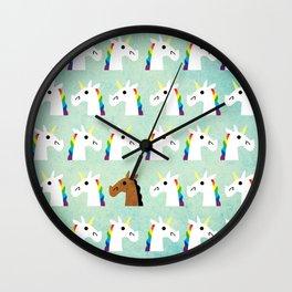 I'm A Horse Wall Clock