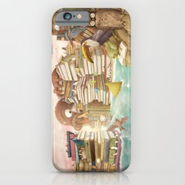 The Library Islands iPhone Case