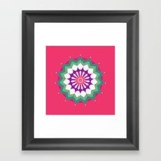Array Framed Art Print