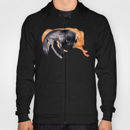 Two Wolves Hoody