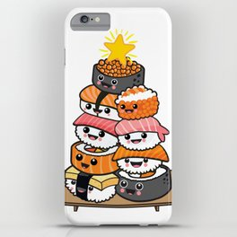 Sushi Xmas iPhone Case