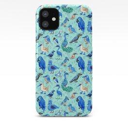 Blue Birds iPhone Case