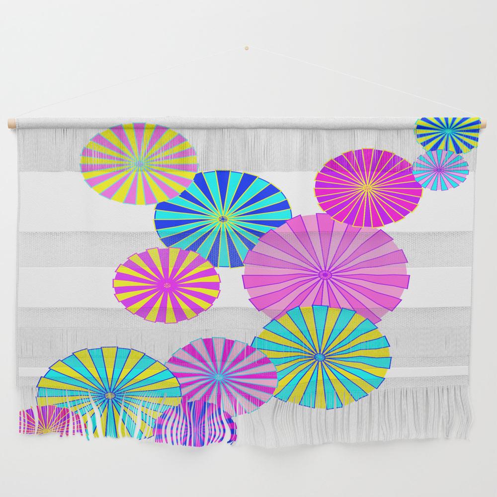 Parasols Wall Hanging by Mellowcat (FWW7747671) photo